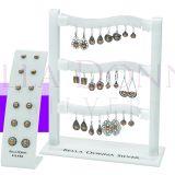 18c RG & S/S Earrings SPECIAL
