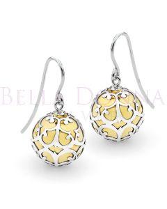 Silver Lace HB Earrings